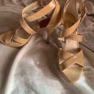 Michael Kors Heels Size 7 Tan